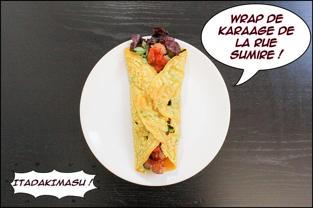 Célèbre Wrap de Karaage - Food Wars (Shokugeki no Sôma) - Itadakimasu EG15