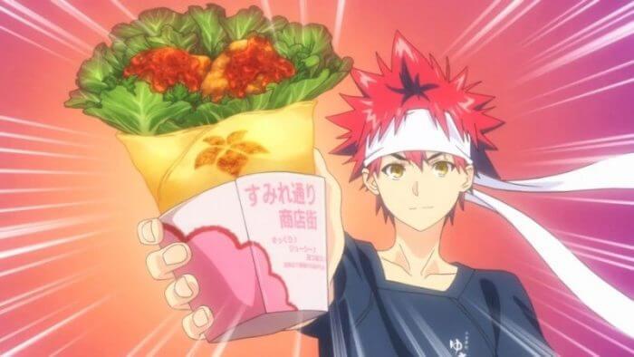 Wrap de Karaage - Food Wars - Itadakimasu