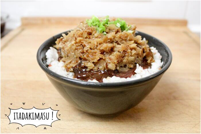 Le donburi de Steak Chaliapin - Food Wars (Shokugeki no Sôma)