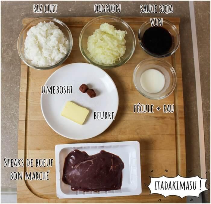 Le donburi de Steak Chaliapin - Food Wars (Shokugeki no Sôma)
