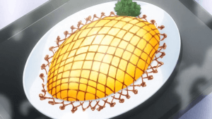 Omurice de riz au curry - Food Wars (Shokugeki no Sôma)