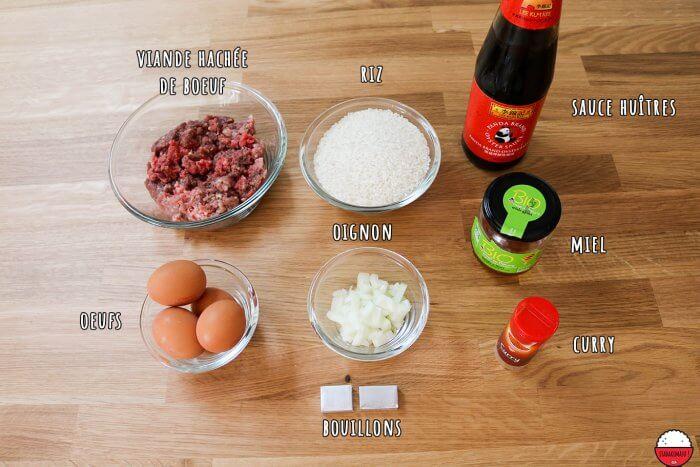 Omurice de risotto au curry - Food wars (Shokugeki no Sôma)