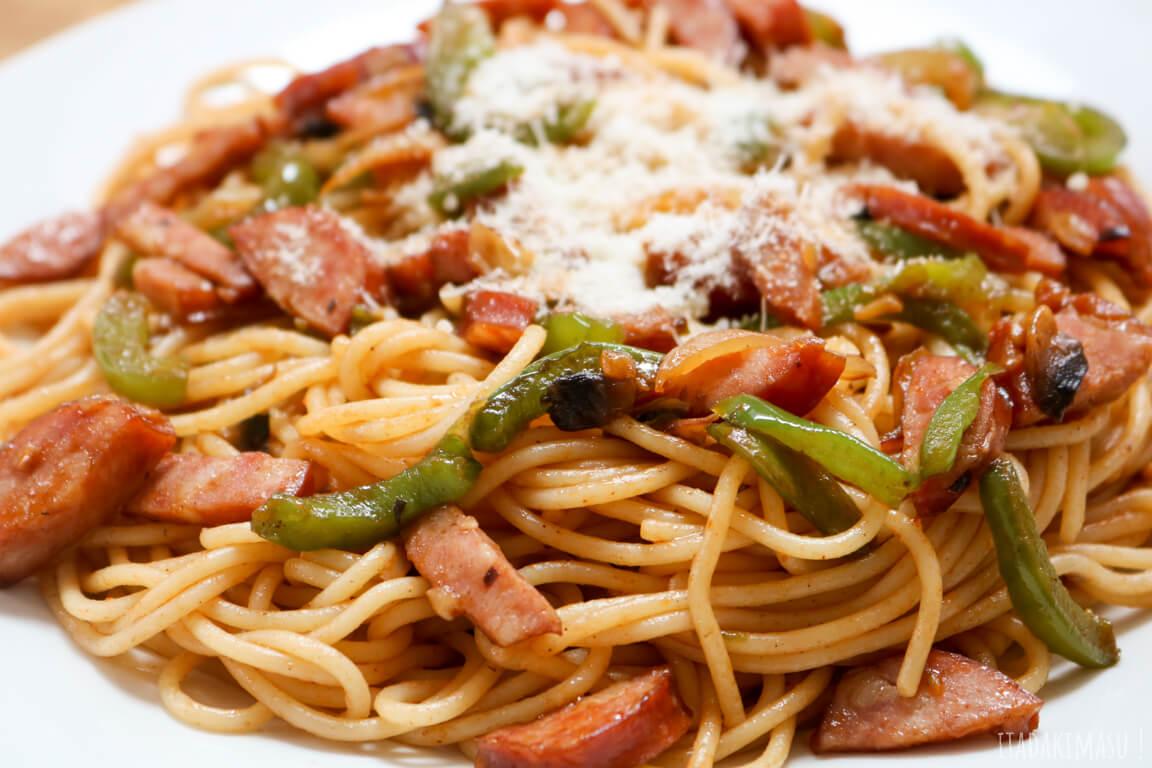 Naporitan - Spaghetti à la japonaise - Food Wars (Shokugeki no Sôma) S2E11 - Itadakimasu.fr
