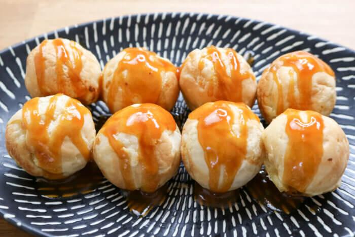 Takoyaki sucrés Caramel - Itadakimasu.fr